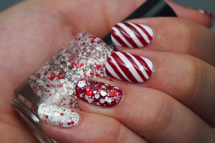 uñas decoradas motivos navidades