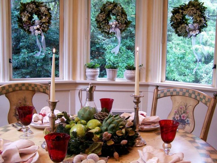 Cena de navidad cincuenta ideas para decorar la mesa for Mesas diseno famosas