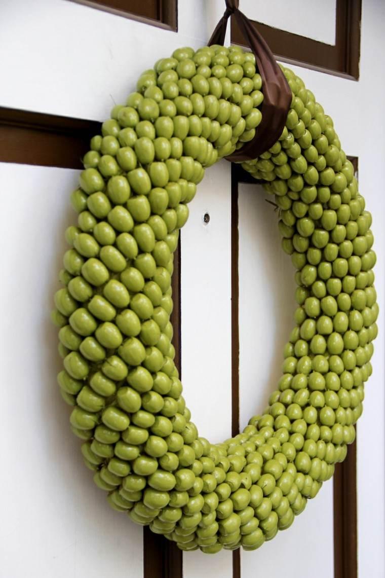 variante color exteriores puerta verde