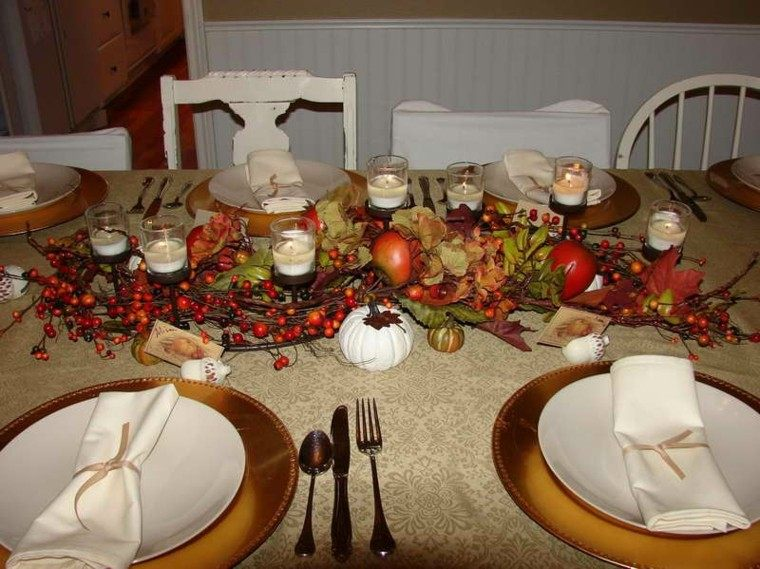 velas centro mesa detalles diy