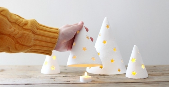 Artesania moderna para Navidad, 50 asombrosas propuestas.