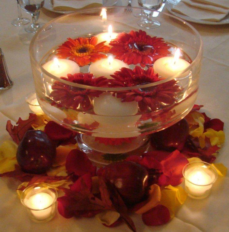 velas creativo fresco romantico mesa