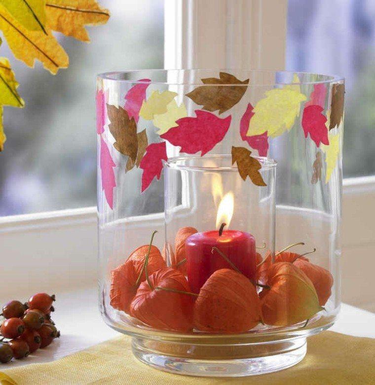 velas vidrio cristales plantas ventanas
