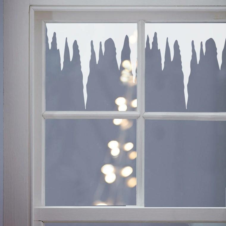 ventana de acentos navidenos ideas creativas  decorar