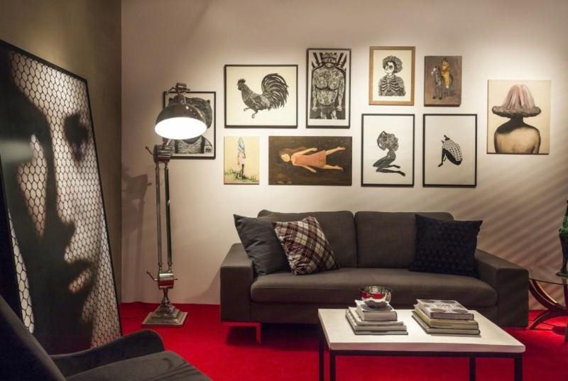Sandro Clemens salon alfombra roja ideas