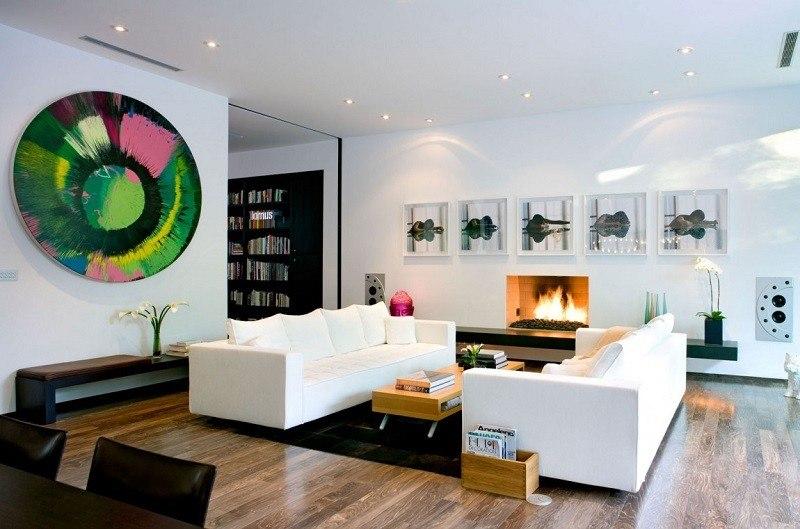 Steven Kent Architect salon moderno ideas