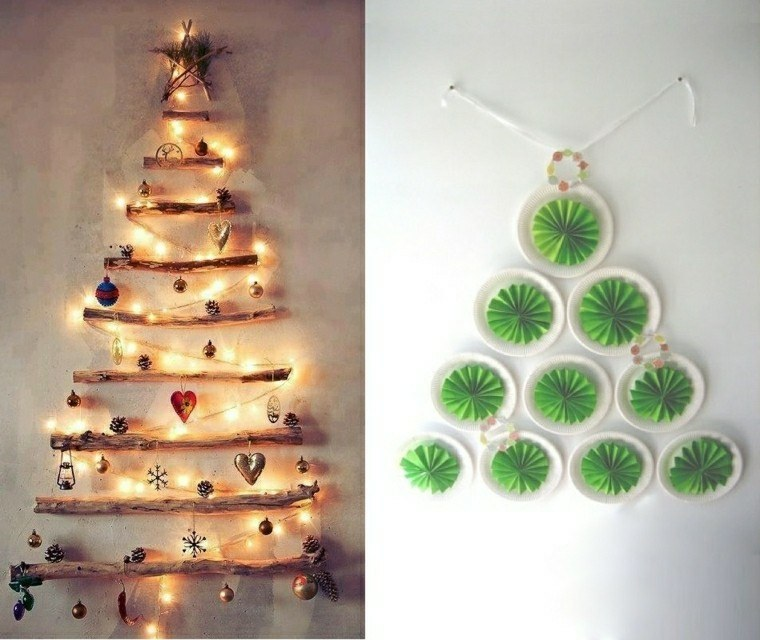 abetos navidad originales diseños ideas