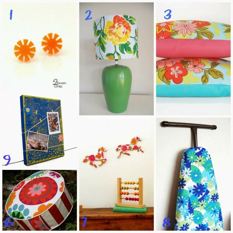accesorios complementos colores estilo vintage