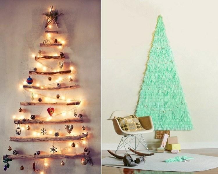 adornos navidad ideas decorativas luces madera