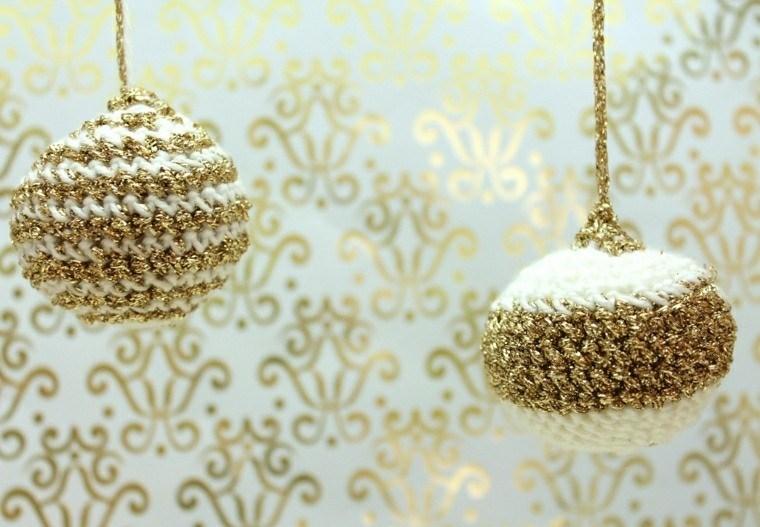 adornos navidad bolas crochet ideas
