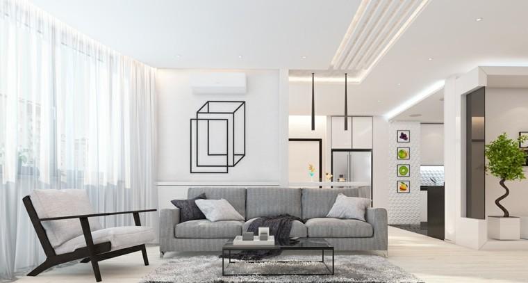 alfombras cocinas diseño respaldo cuadro