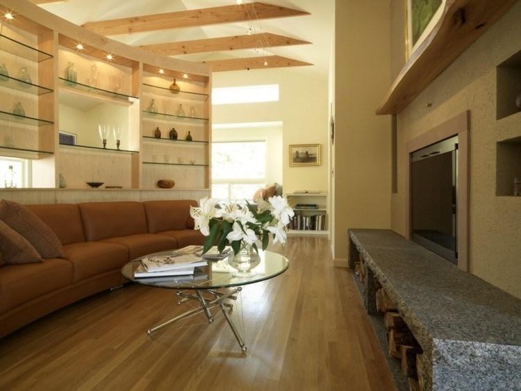 ambinte decorado estilo variaciones cemento