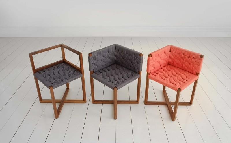 Angulos en la mesa del comedor y sillas preciosas for Sillas comedor comodas