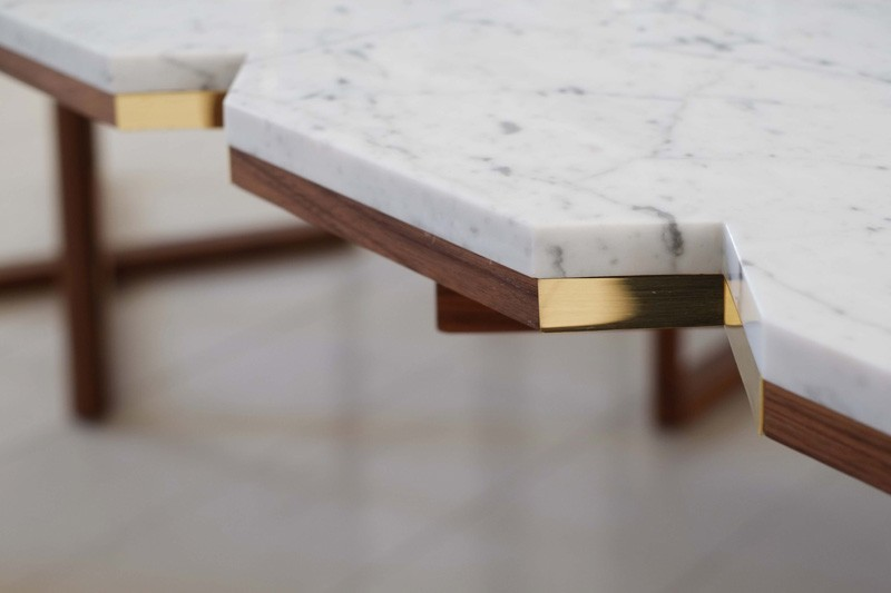 angulos mesa comedor marmol madera ideas