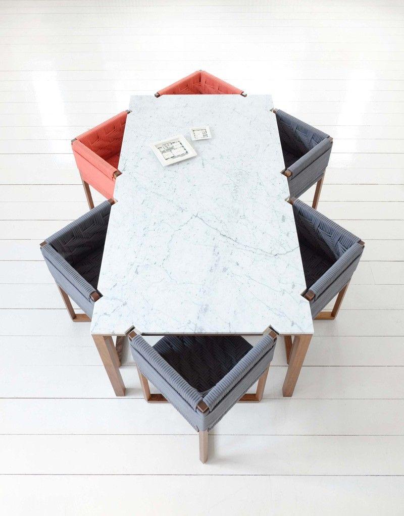 angulo mesa comedor sillas mesa marmol ideas