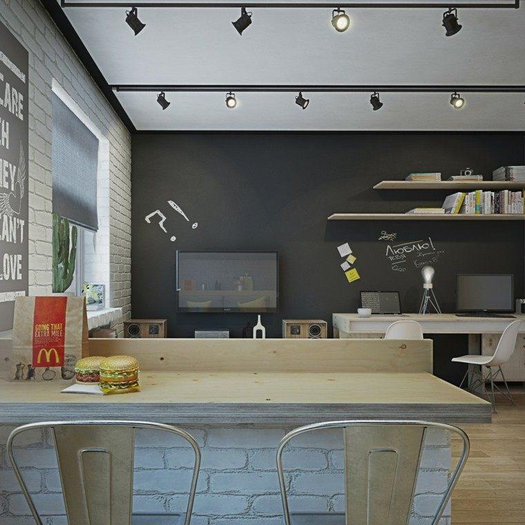 apartamentos diseño decoracion cactus lamparas