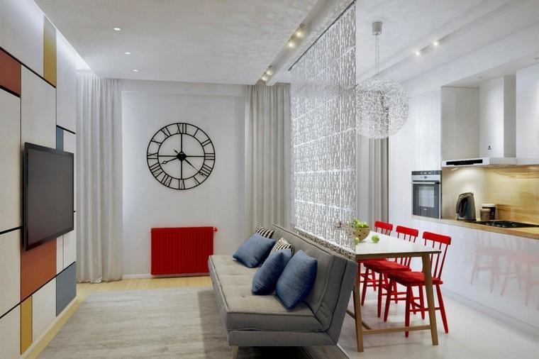 apartamentos diseño decoracion estilo reloj