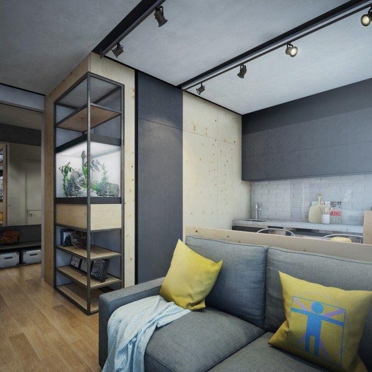 apartamentos diseño decoracion faroles lamparas