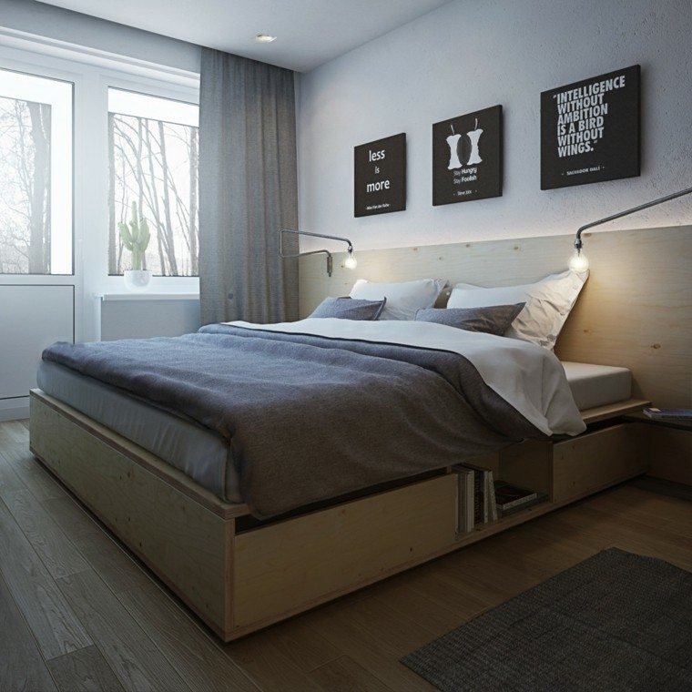 apartamentos diseño decoracion frutas madera