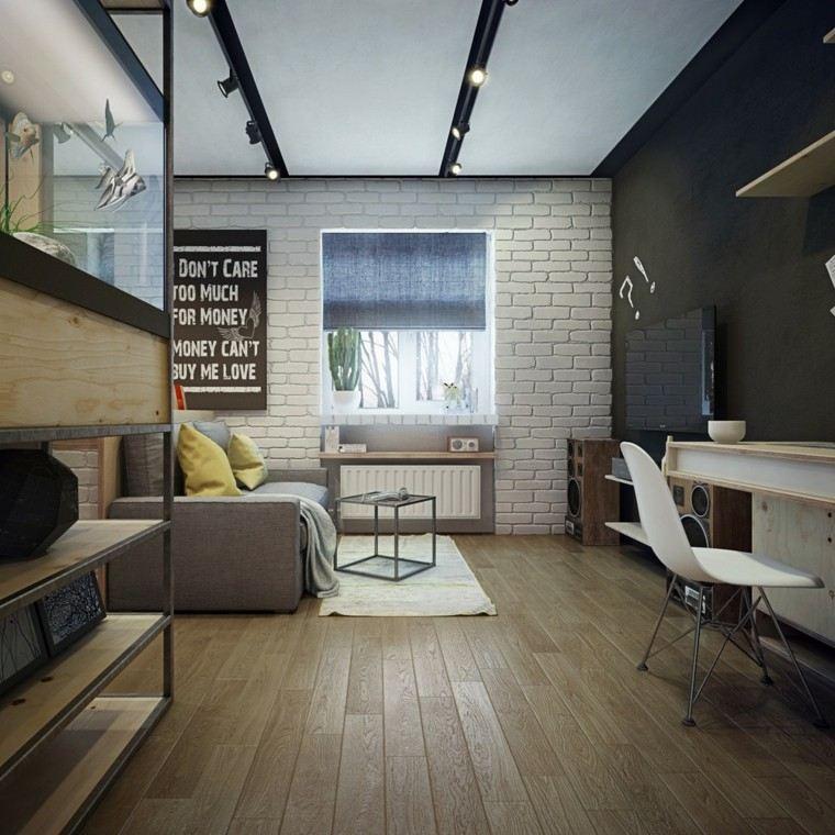 apartamentos diseño decoracion madera abierto