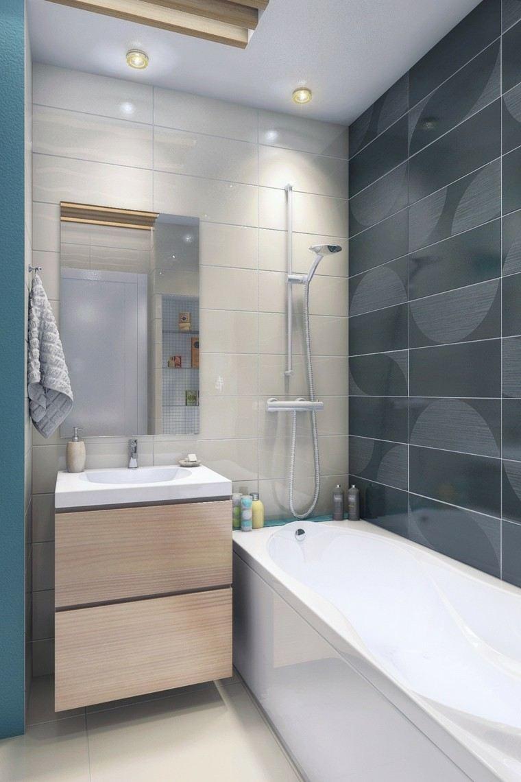 Baños Aseos Modernos:Apartamentos diseño pequeño, ideas personalizadas