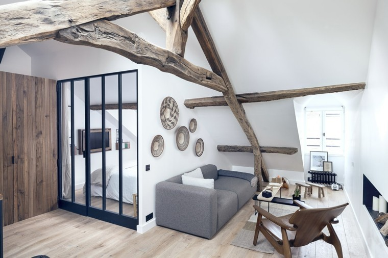 apartamentos diseño pequeño decoracion sillones
