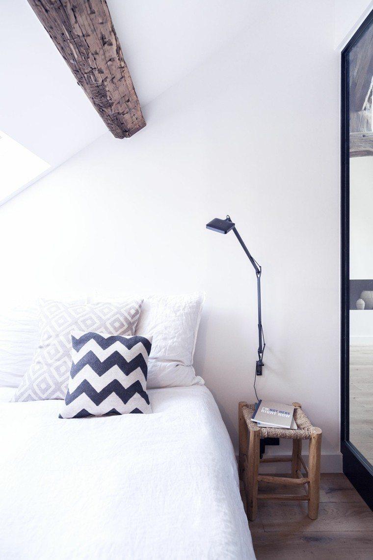 apartamentos diseño pequeño geometrico ducha