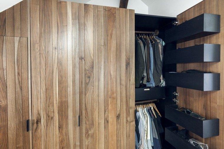 apartamentos diseño pequeño ropero funcional