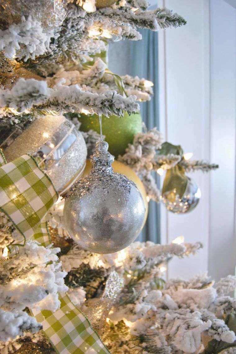 Arbol de navidad decoracion preciosa con lazos for Adornos originales para navidad