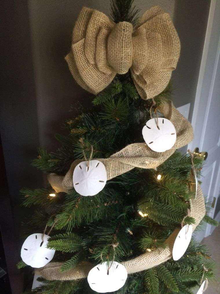 arbol de navidad decoracion lazo facil ideas