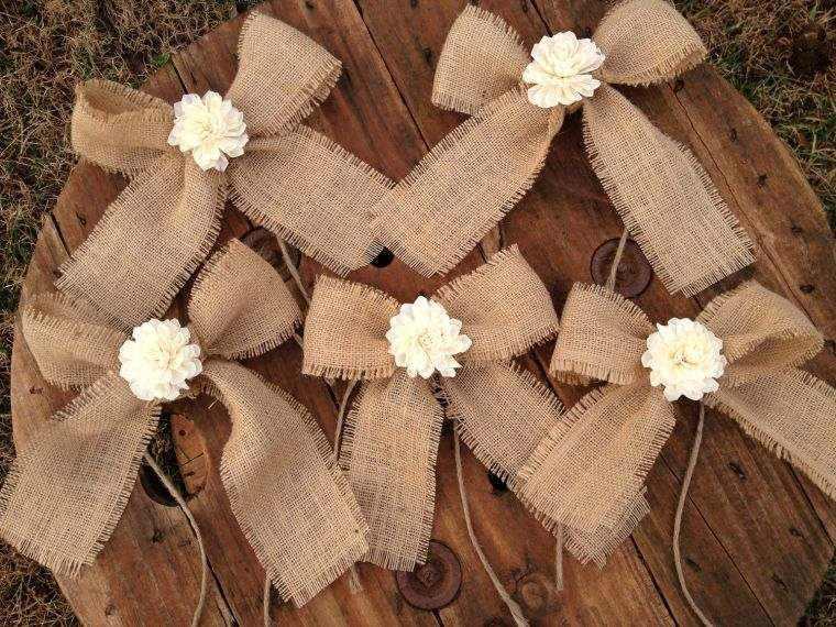 arbol navidad decoracion lazo beige flor ideas