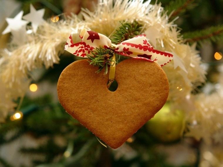arbol navidad decoracion lazo corazon ideas