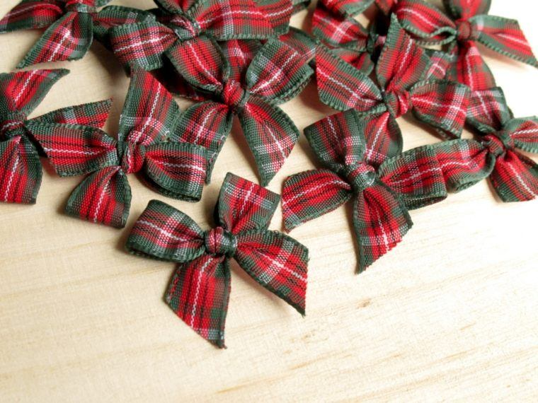 Arbol de navidad decoracion preciosa con lazos - Lazos para arbol de navidad ...