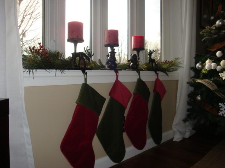 arboles estilo ideas decorado renos velas