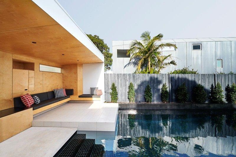 piscina cas jardin moderno ideas