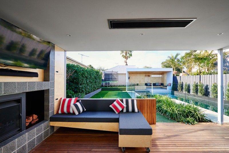 piscina casa jardin precioso ideas