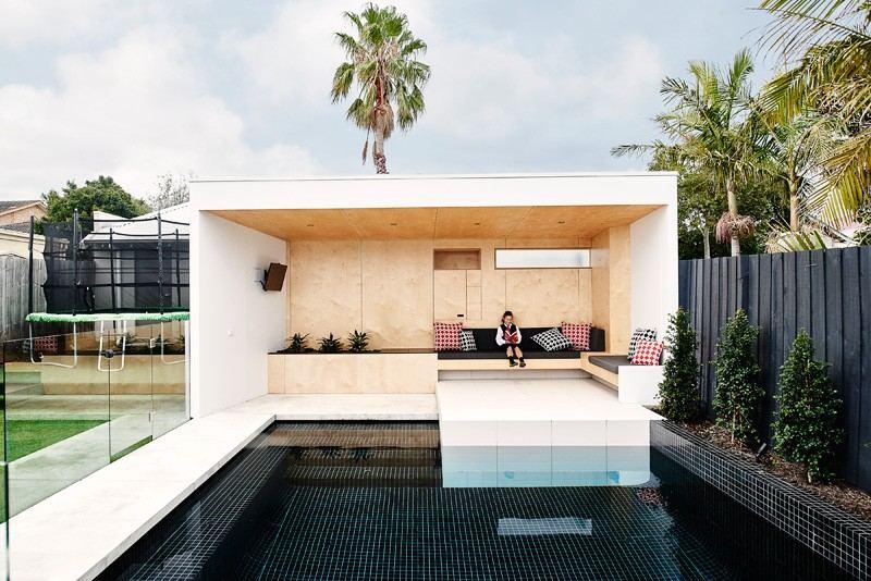 piscina casa jardin valla ideas