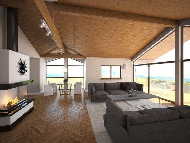 arquitectura casas techo abovedado moderno plano precioso ideas