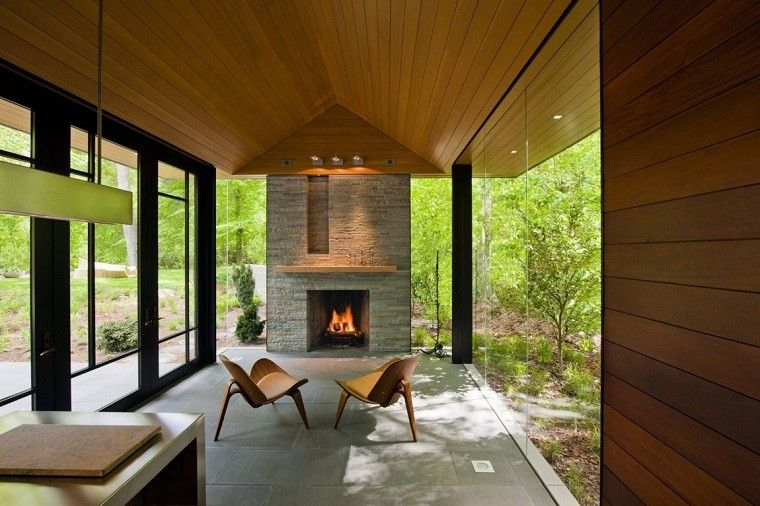 arquitectura casas techo abovedado moderno ventanas luminosa ideas
