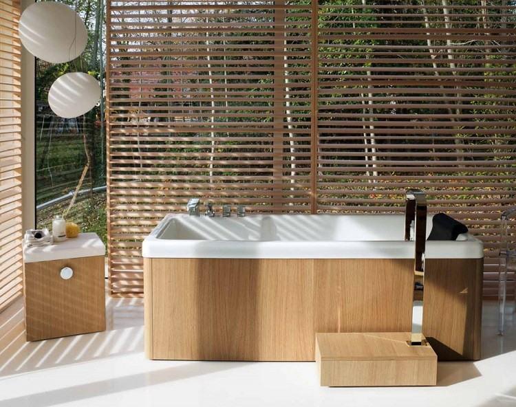 bañera estilo exteriores decoracion lamparas