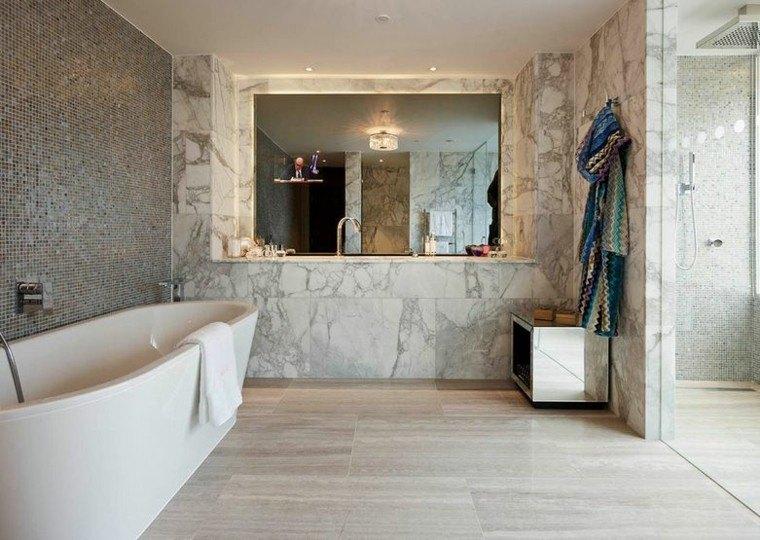 bañera decorado ambiente ideas gris