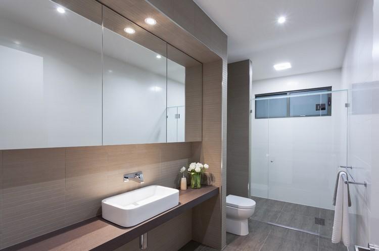 baño deco diseño moderno luces