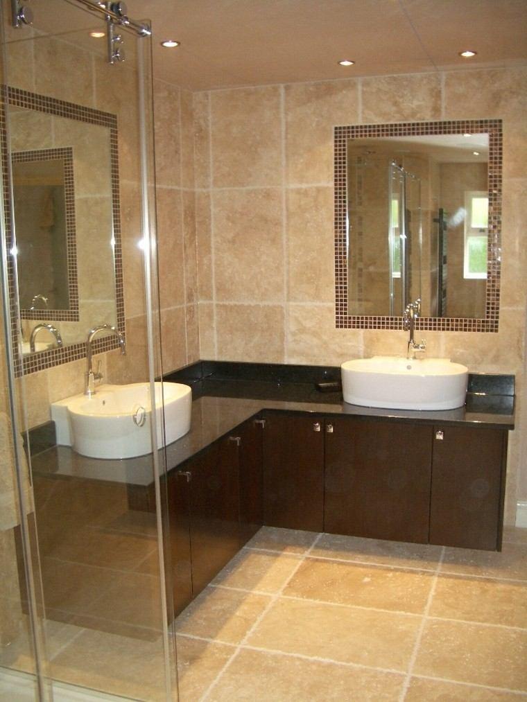 baños pequeños dos lavabos