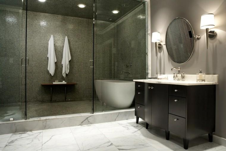 baño pequeño ducha grande
