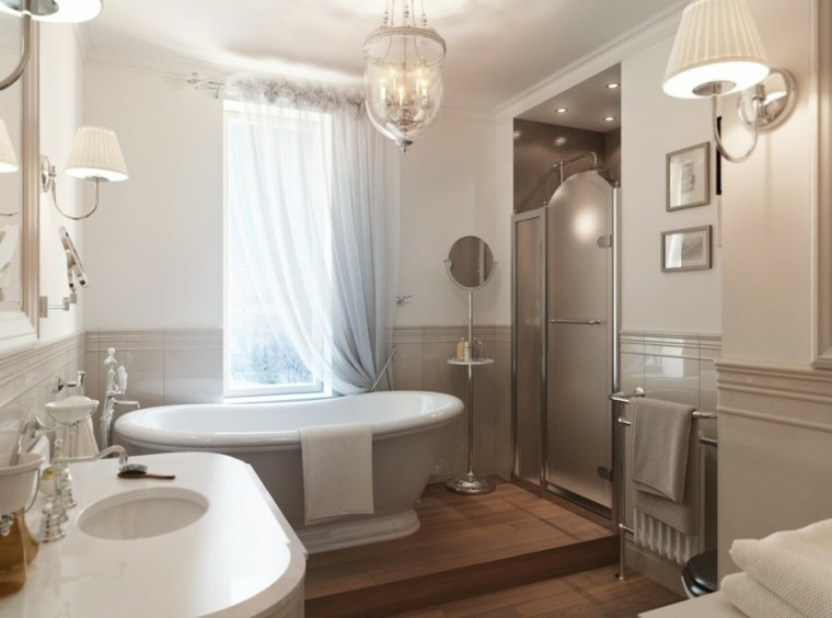 baños pequeños estilo lujoso