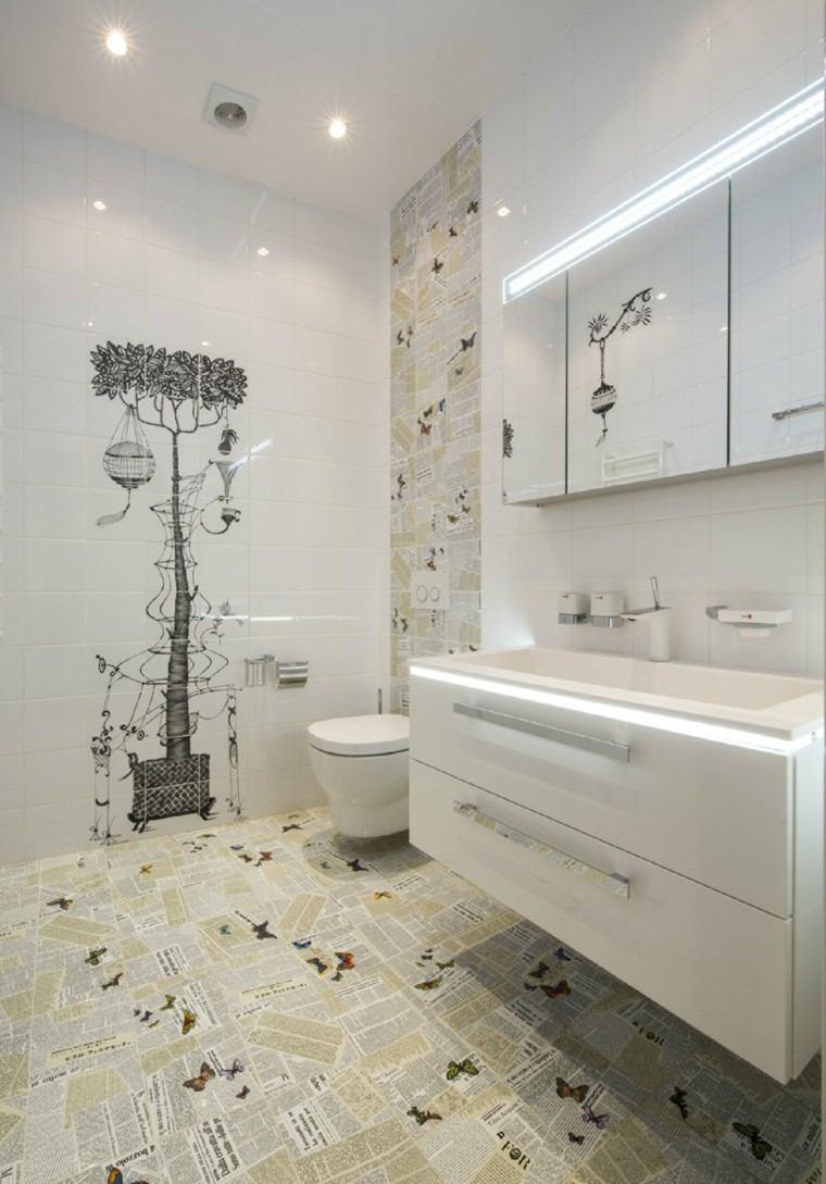 baños cocinas diseño respaldo paredes