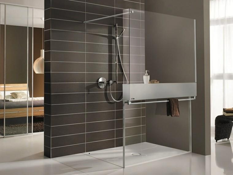 baños modernos con ducha lamparas lamparas