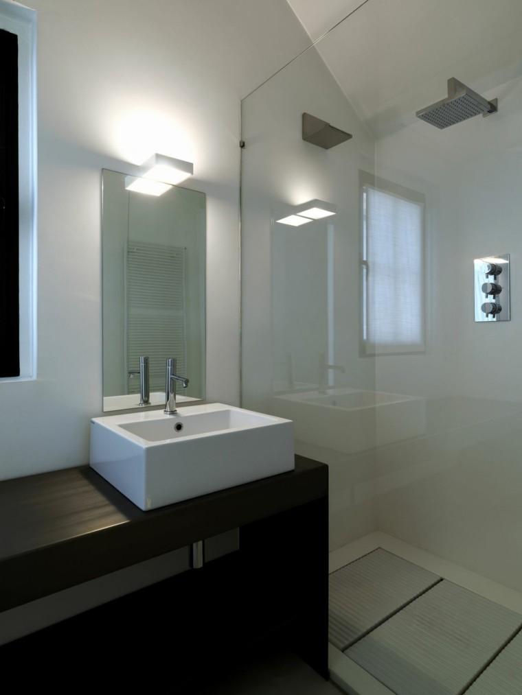 baños modernos mampara vidrio