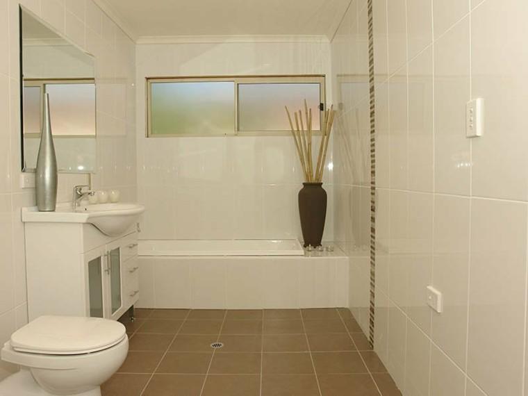 baños pequeños estilo minimalista