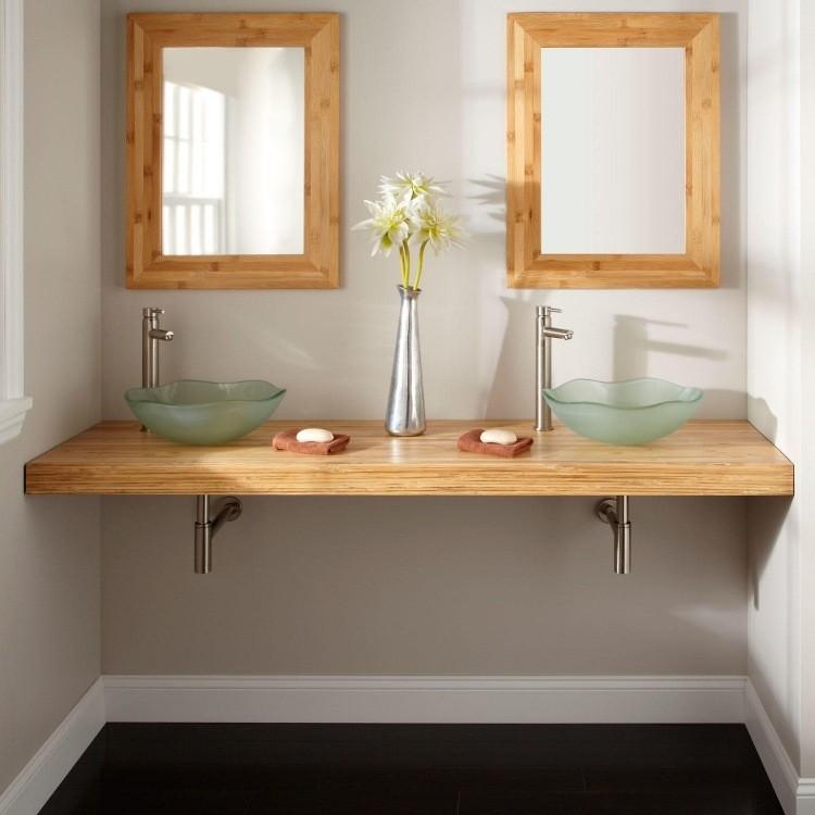 bambu muebles ideas espejos pareja cuadros